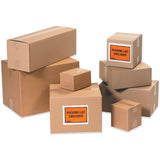 Shipping Apparel & Books Kraft Flat Recyclable Corrugated Boxes- Bundle Of 25