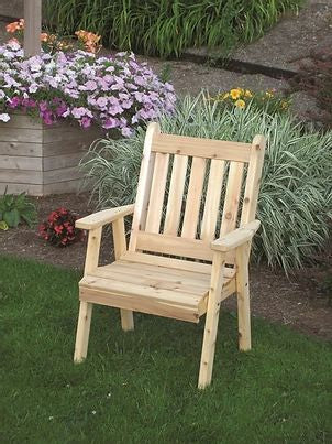 Outdoor Garden Furniture Traditional English Chair Made In USA