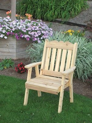 Outdoor Garden Furniture Royal English Chair Made In USA