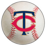 "MLB - Minnesota Twins Baseball Mat 27"" diameter"