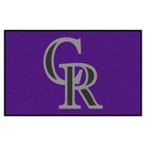 "MLB - Colorado Rockies Ulti-Mat 59.5""x94.5"""