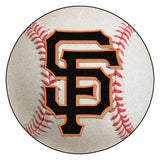 "MLB - San Francisco Giants Baseball Mat 27"" diameter"