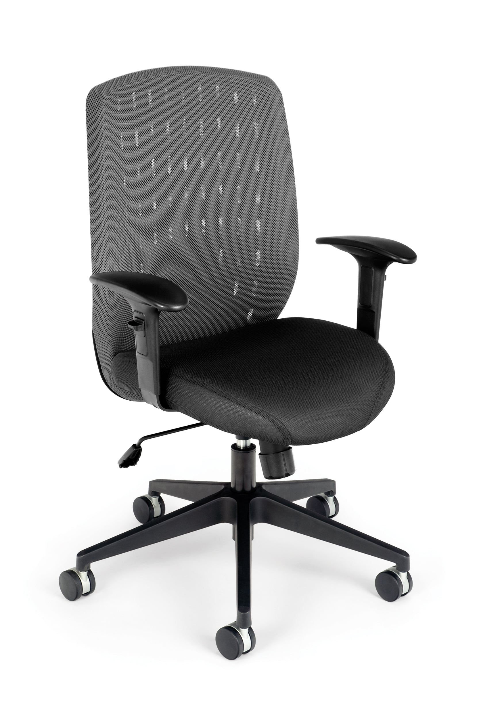 Model 654 Vision Series Executive Mesh Back Swivel Arms Office Chair