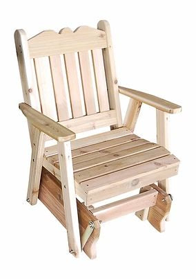 Outdoor Garden Furniture Royal English Glider Chair Made In USA