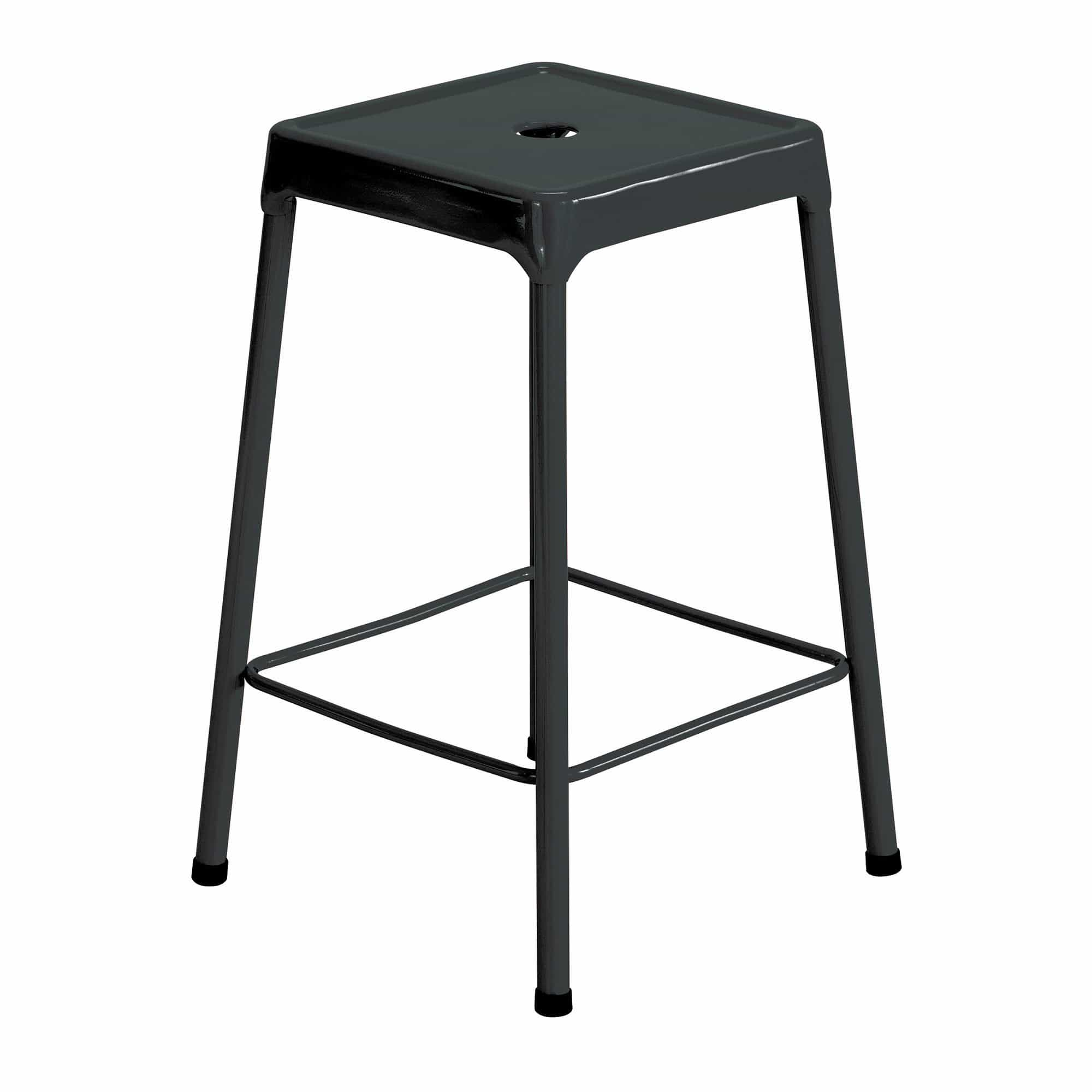 bedinhome - Industrial Seating 250 lbs Weight Capacity 25 H Steel Counter Height Stool - Safco - Counter Height Stool