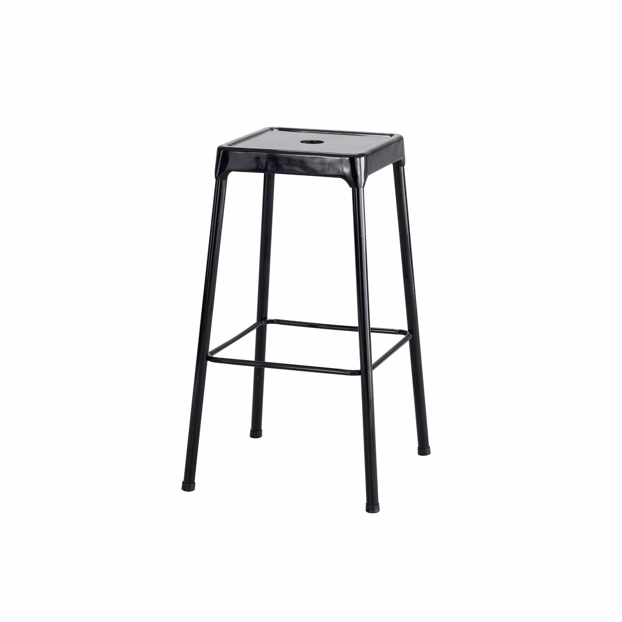 bedinhome - Industrial Seating 250 lbs Weight Capacity 29 H Steel Bar Height Stool - Safco - Counter Height Stool