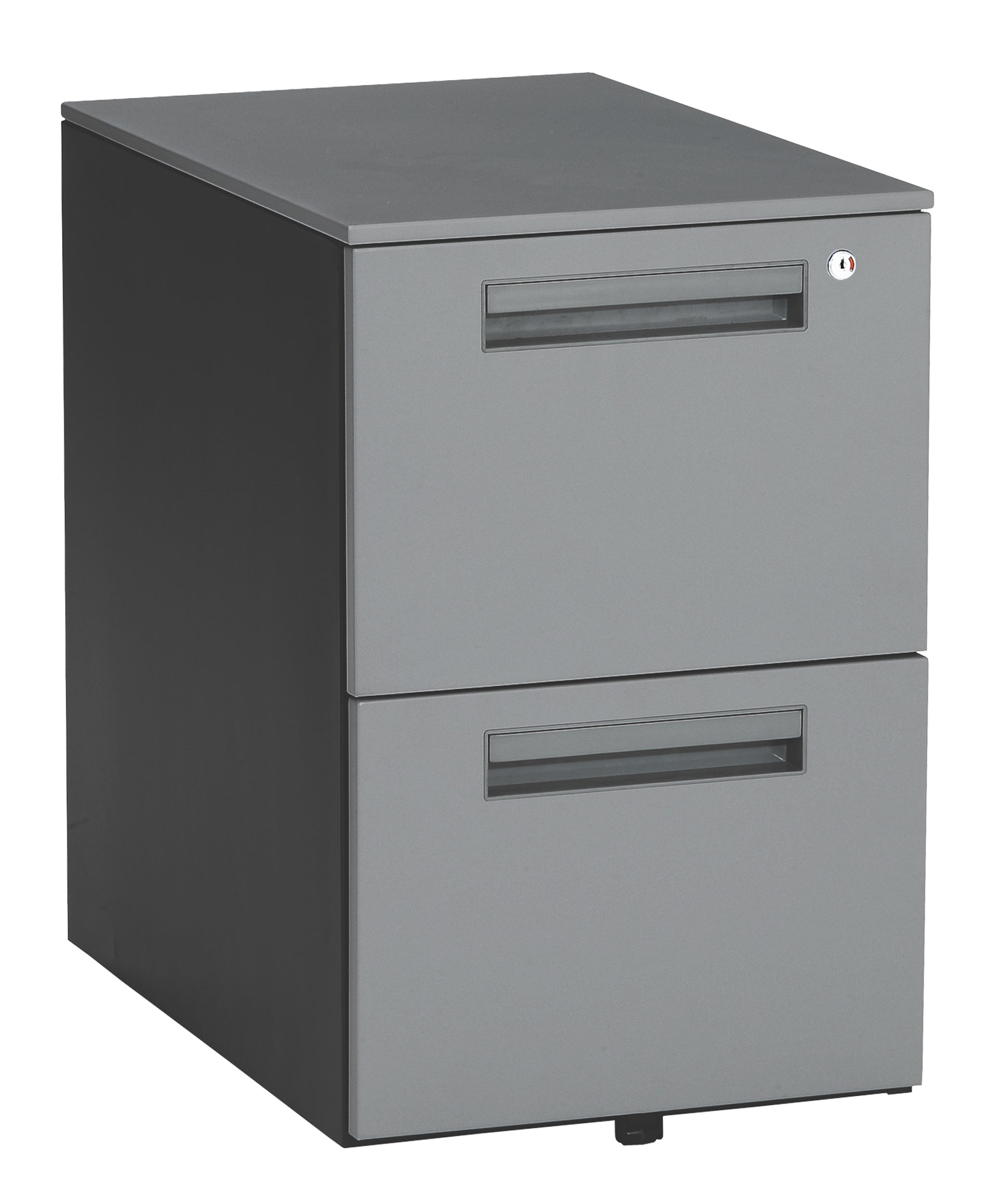 Model 66200 Mesa Series Wheeled Mobile 2-Drawer Steel File Cabinet