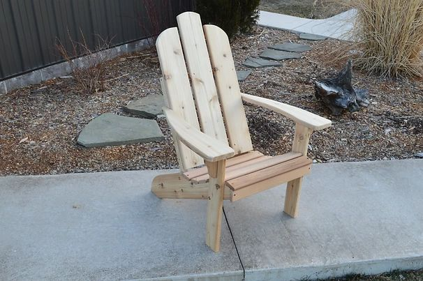 Outdoor Garden Furniture Mountain Adirondack Chair Made In USA
