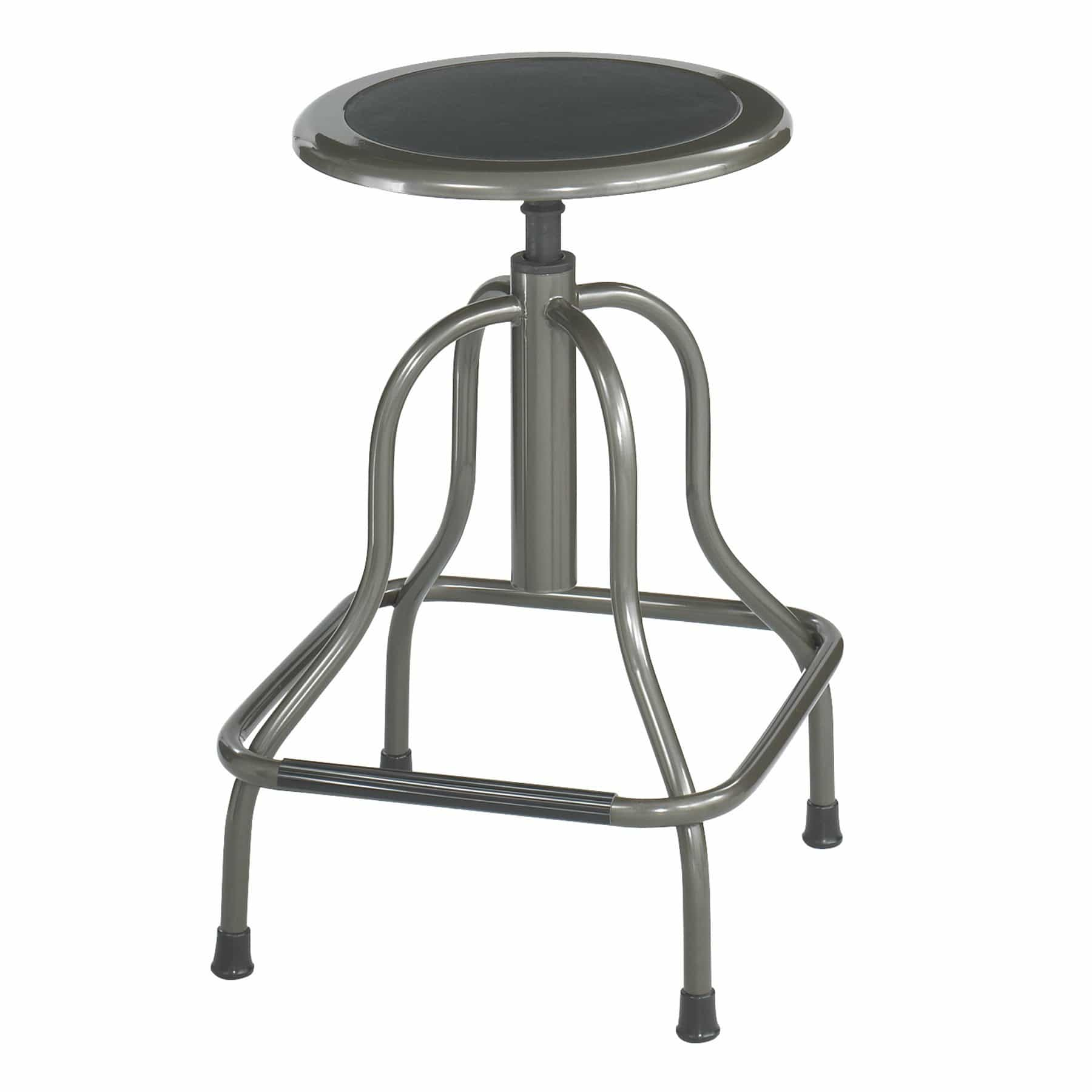 bedinhome - Industrial Seating 250 lbs Capacity Recycled Leather Padded Steel Stool - Safco - Stool