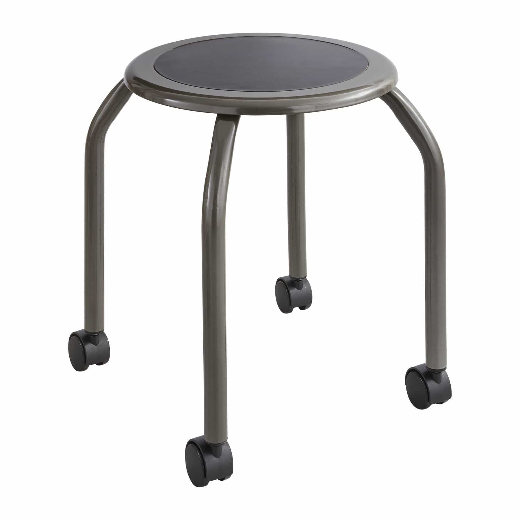 bedinhome - Industrial Back Room Seating Trolley Design Diesel Stool With Steel Frame - Safco - Diesel Stool