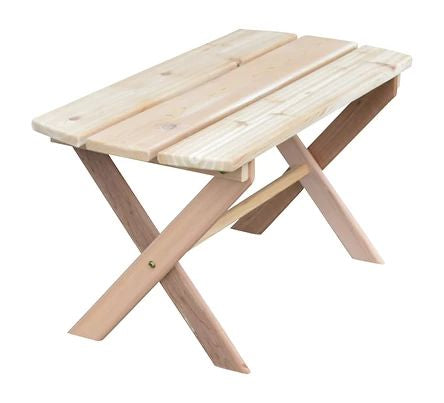 Outdoor Garden Furniture Folding Coffee Table Made In USA