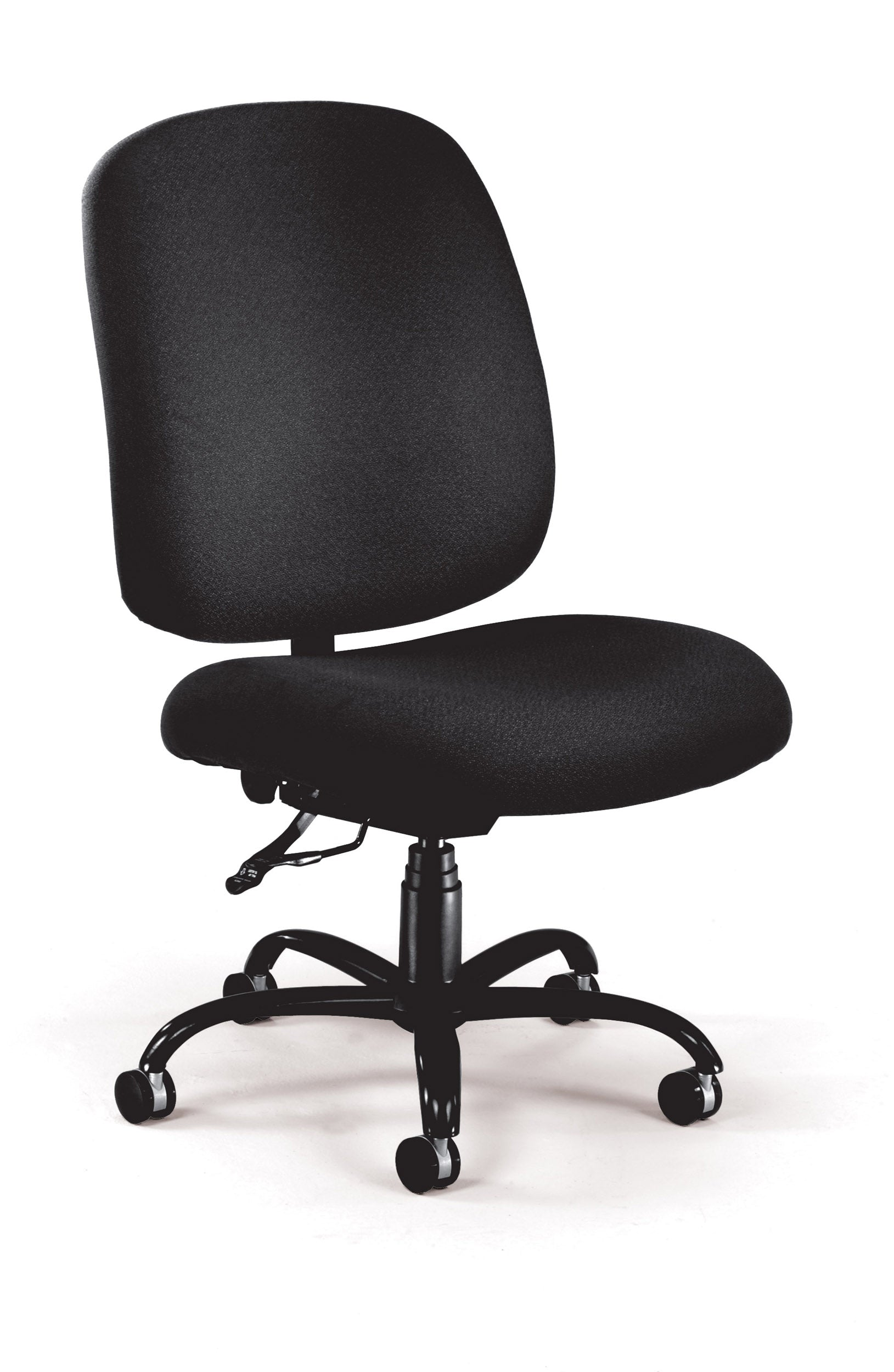 Ofminc Model 700 Big & Tall Upholstered Armless Swivel Task Chair