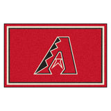 "MLB - Arizona Diamondbacks 4x6 Rug 44""x71"""