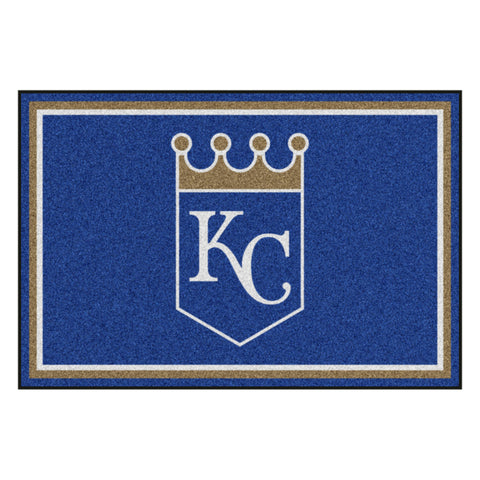 "MLB - Kansas City Royals 5x8 Rug 59.5""x88"""