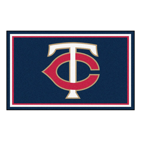 "MLB - Minnesota Twins 4x6 Rug 44""x71"""