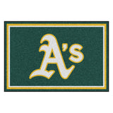"MLB - Oakland Athletics 5x8 Rug 59.5""x88"""