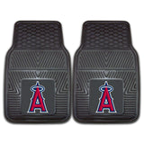 "MLB - Los Angeles Angels 2-pc Vinyl Car Mat Set 17""x27"""
