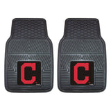 "MLB - Cleveland Indians 2-pc Vinyl Car Mat Set 17""x27"""