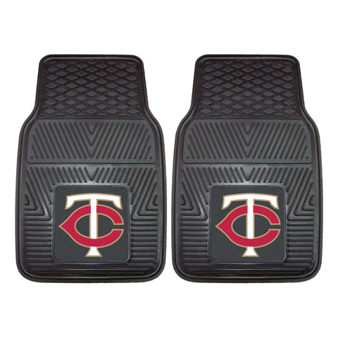 "MLB - Minnesota Twins 2-pc Vinyl Car Mat Set 17""x27"""