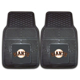 "MLB - San Francisco Giants 2-pc Vinyl Car Mat Set 17""x27"""