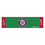 "MLB - Washington Nationals Putting Green Mat 18""x72"""