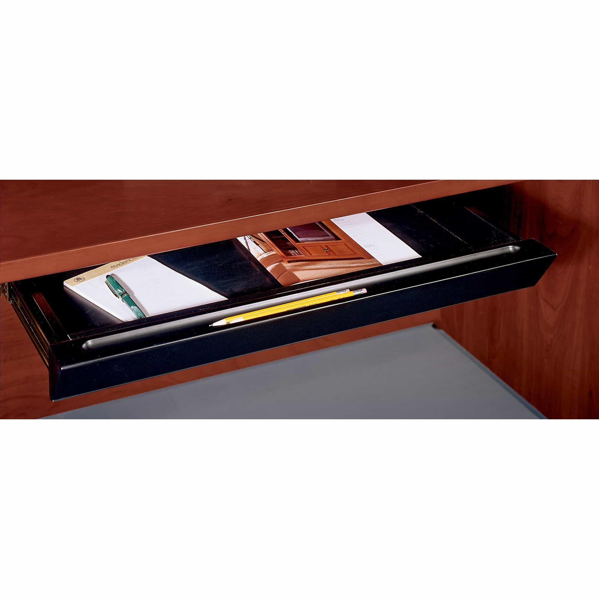 bedinhome - Bush Business Furniture Office & Desk Accessories Black Pencil Drawer - Bush Business Furniture - Pencil Drawer