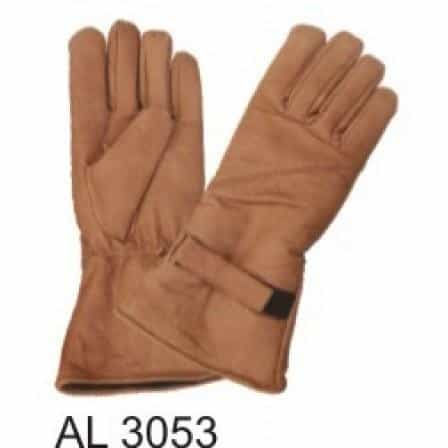 bedinhome - AL3053 Men's Boys Fashion Motorcycle Lightly Lined Brown Riding Gloves - All State Leather - Men's Leather Gloves