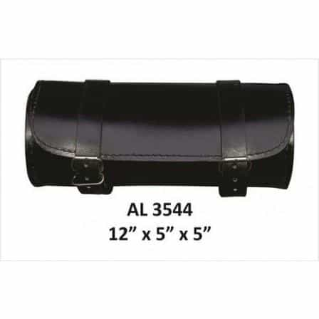 bedinhome - AL3544 Motorcycle Luggage Travel Round Plain Cowhide Soft Leather Tool Bag - All State Leather - Unisex Leather Bag