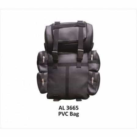 bedinhome - AL3665 Motorcycle Heavy Duty Medium Travel Luggage Soft Leather Bag - All State Leather - Unisex Leather Bag