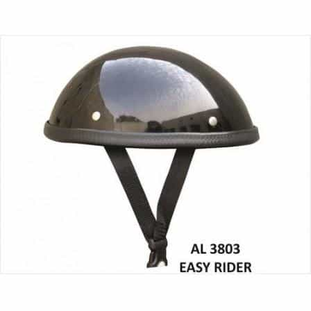 bedinhome - AL3803 Unisex Motorcycle Biker Nature Easy Rider Glossy Novelty Helmet With Y Straps - All State Leather - Unisex Novelty Helmet