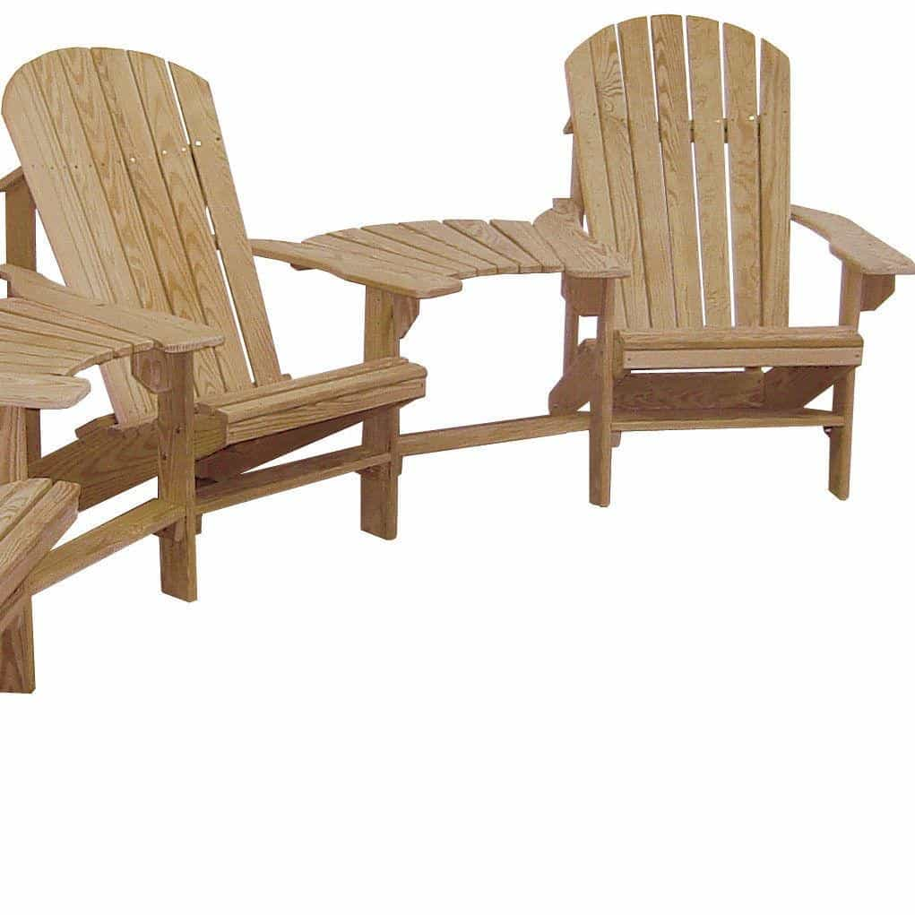 HershyWay Cypress Fan Back Design Adirondack Chair