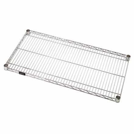bedinhome - Safety & industrial Supplies Heavy-duty Adjustable Open Wire Shelf Units With Chrome-Plated- Case Of 1 - UNBRANDED - Wire Shelves