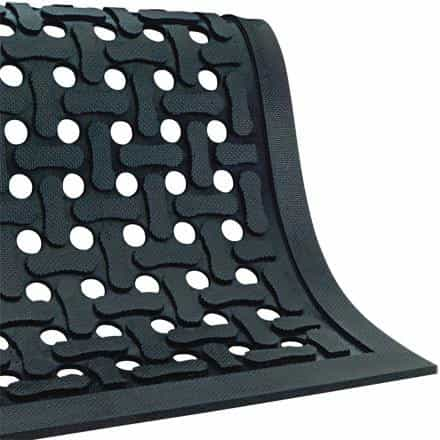 bedinhome - Light-Weight 100% high density Nitrile Rubber and Oil Resistance Slip Guard Drainage Mat- 1 Each - UNBRANDED - Slip Guard Drainage Mat