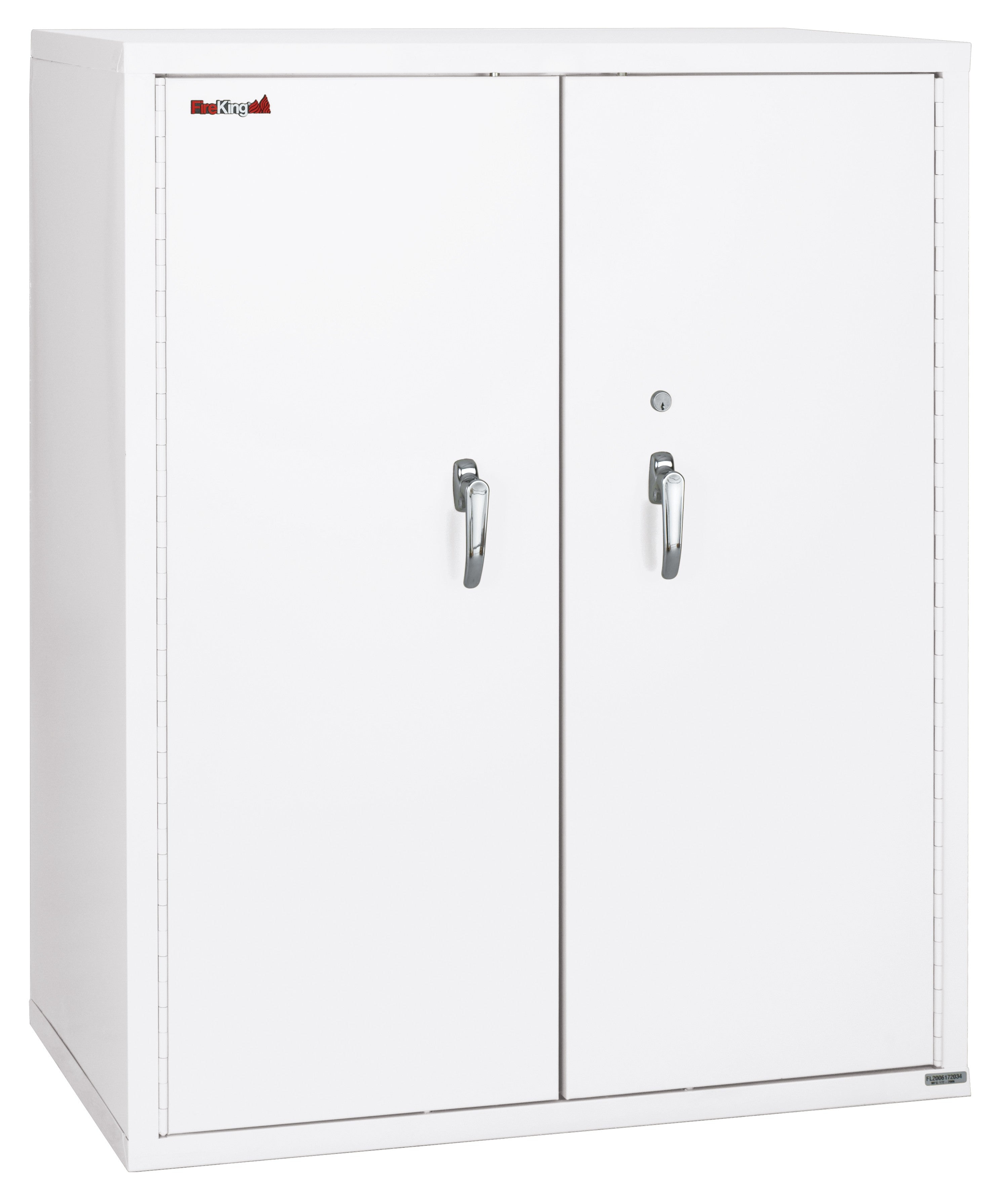"Fireking 44"" Height Storage Cabinet with Adjustable Shelves"