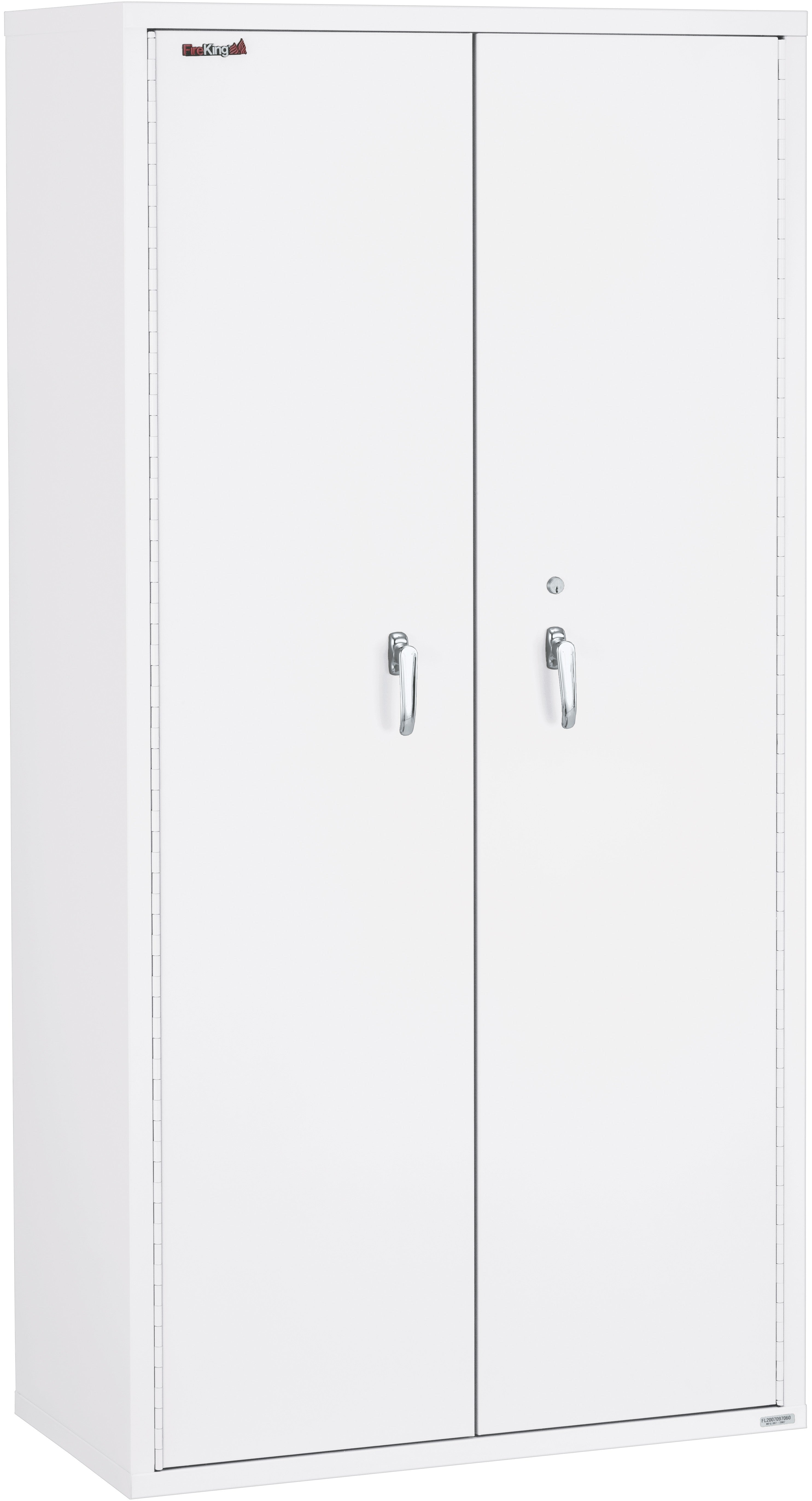 "Fireking 72"" Height Storage Cabinet with Adjustable Shelves"