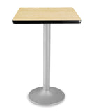 CFT24SQ Square Cafe Height Folding Table with Pedestal Base 24 Inch