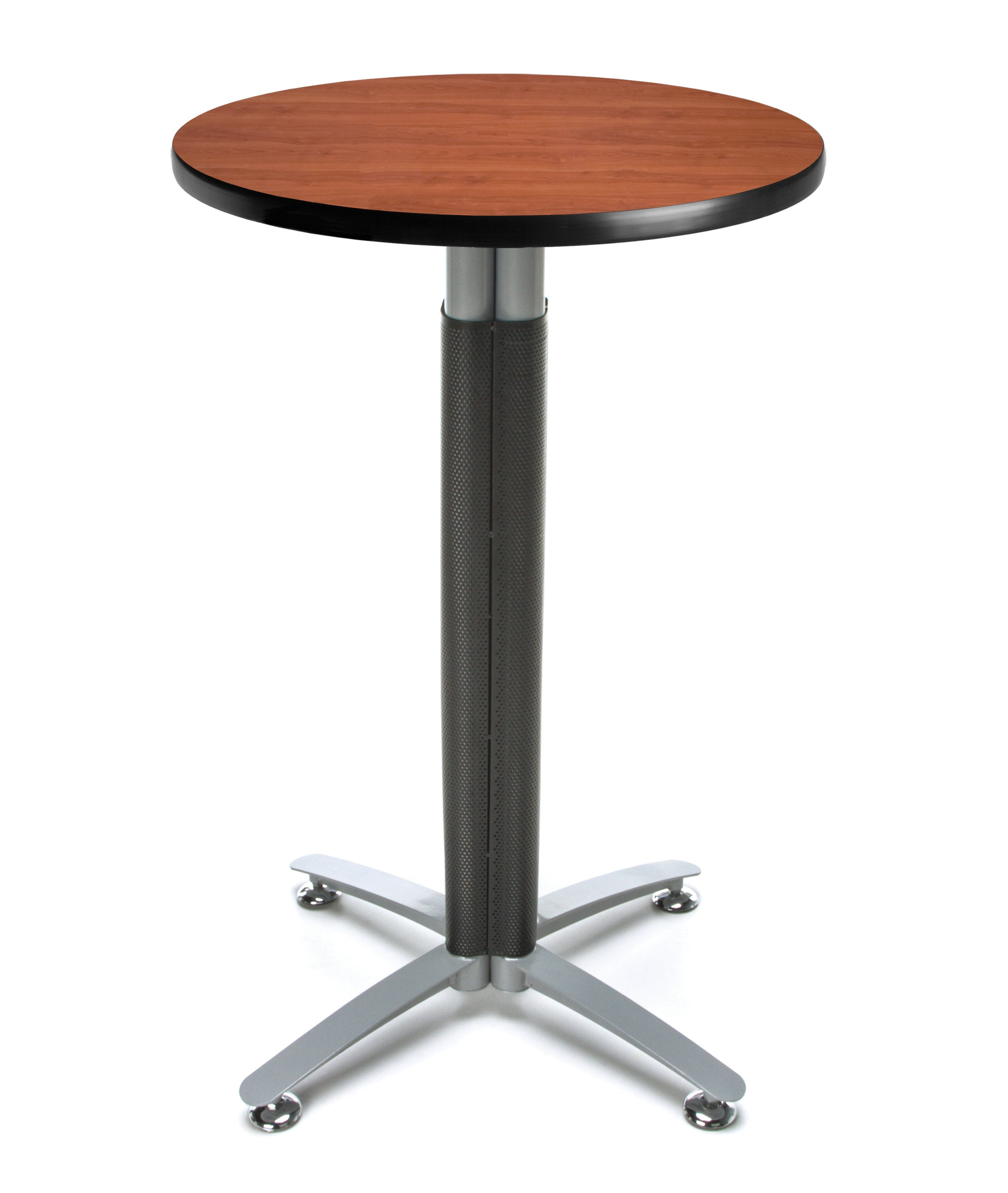 Ofminc Model CMT24RD 24 Inch Round Metal Mesh Base Cafe Table