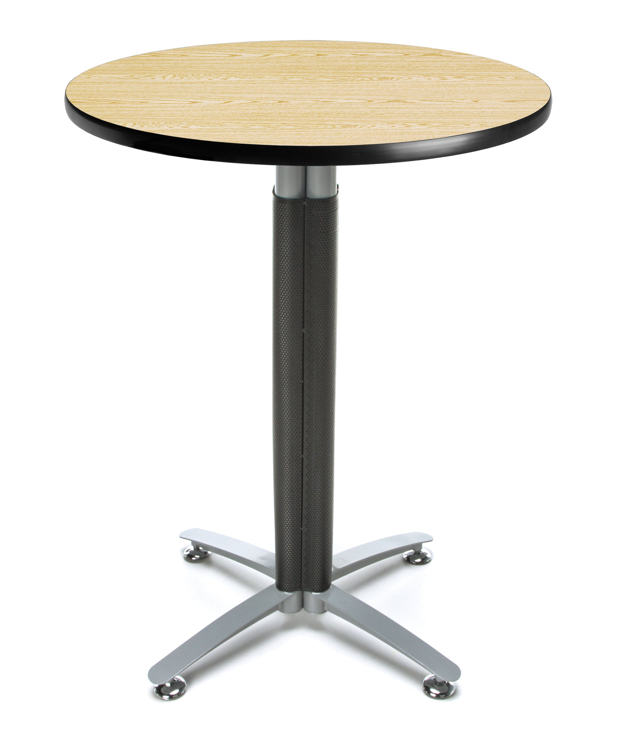 Ofminc Model CMT30RD 30 Inch Round Metal Mesh Base Cafe Table