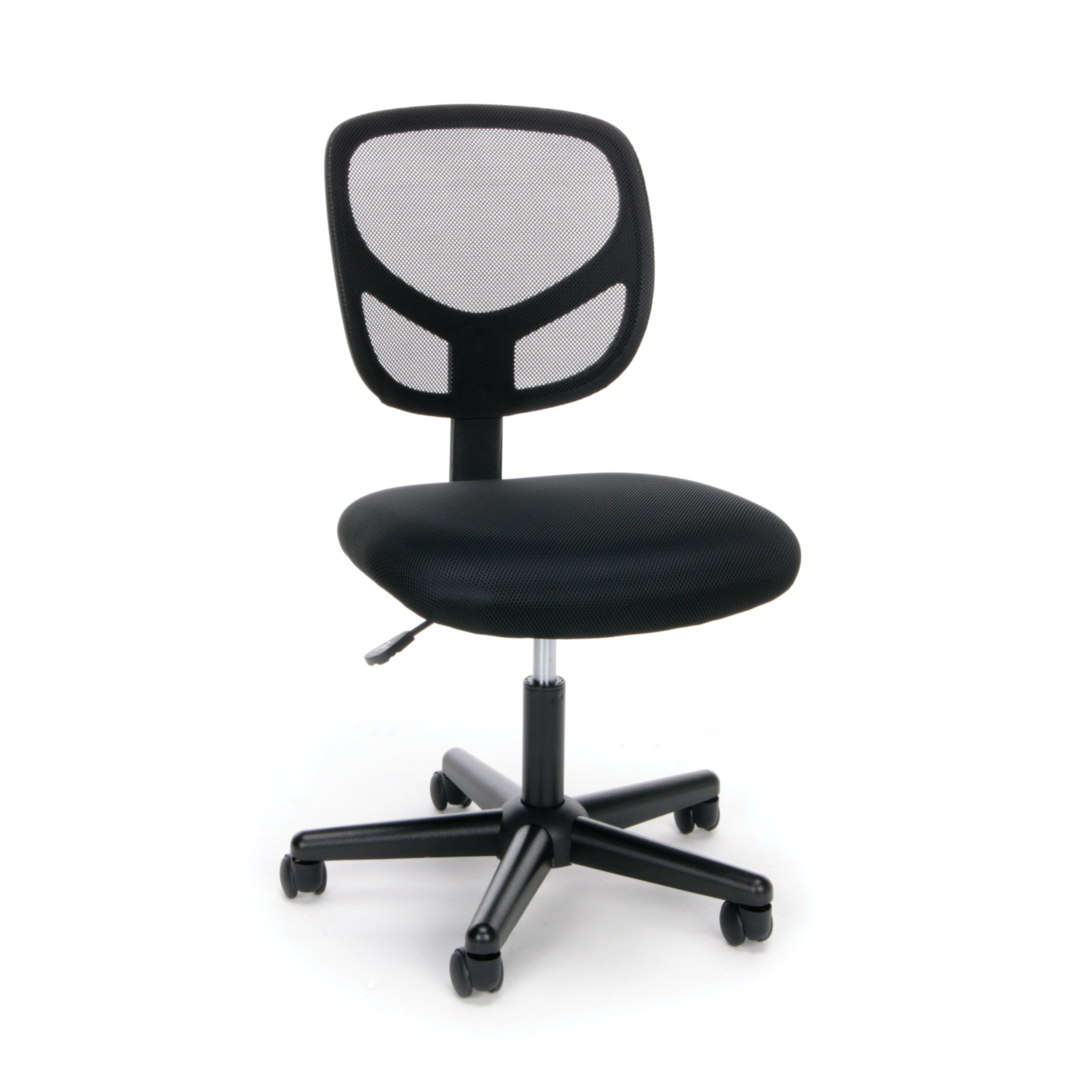 Essentials by OFM Swivel Midback Mesh Armless Swivel Control Chair