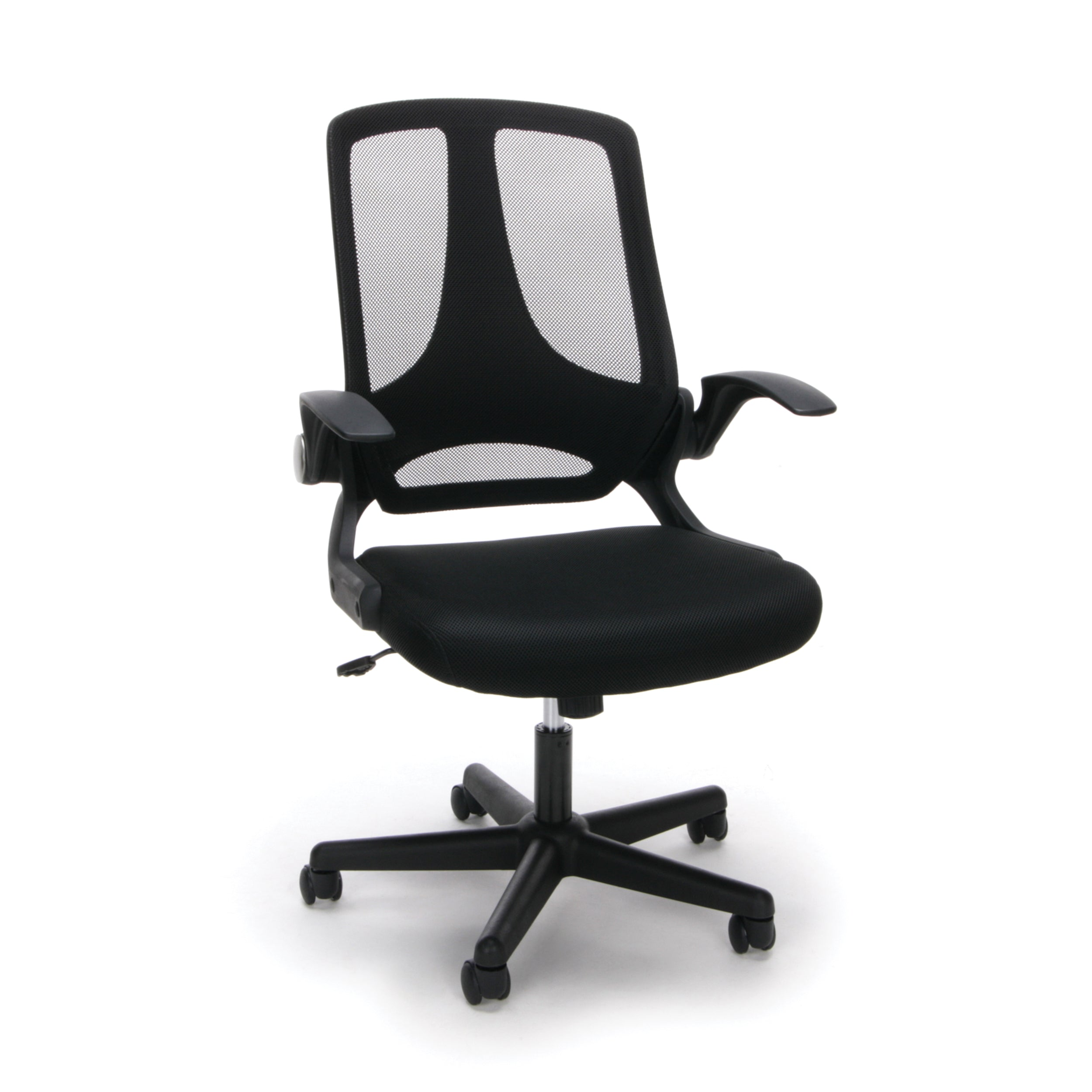 Model ESS-3045 Essentials Upholstered Flip-Arm Task Chair