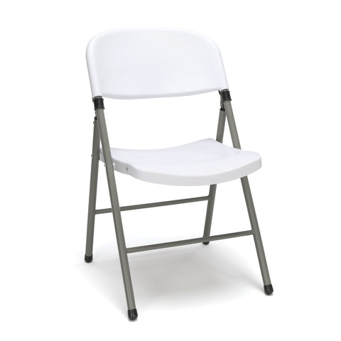 Model ESS-5000 Essentials by OFM 4-Pack Plastic Folding Chair