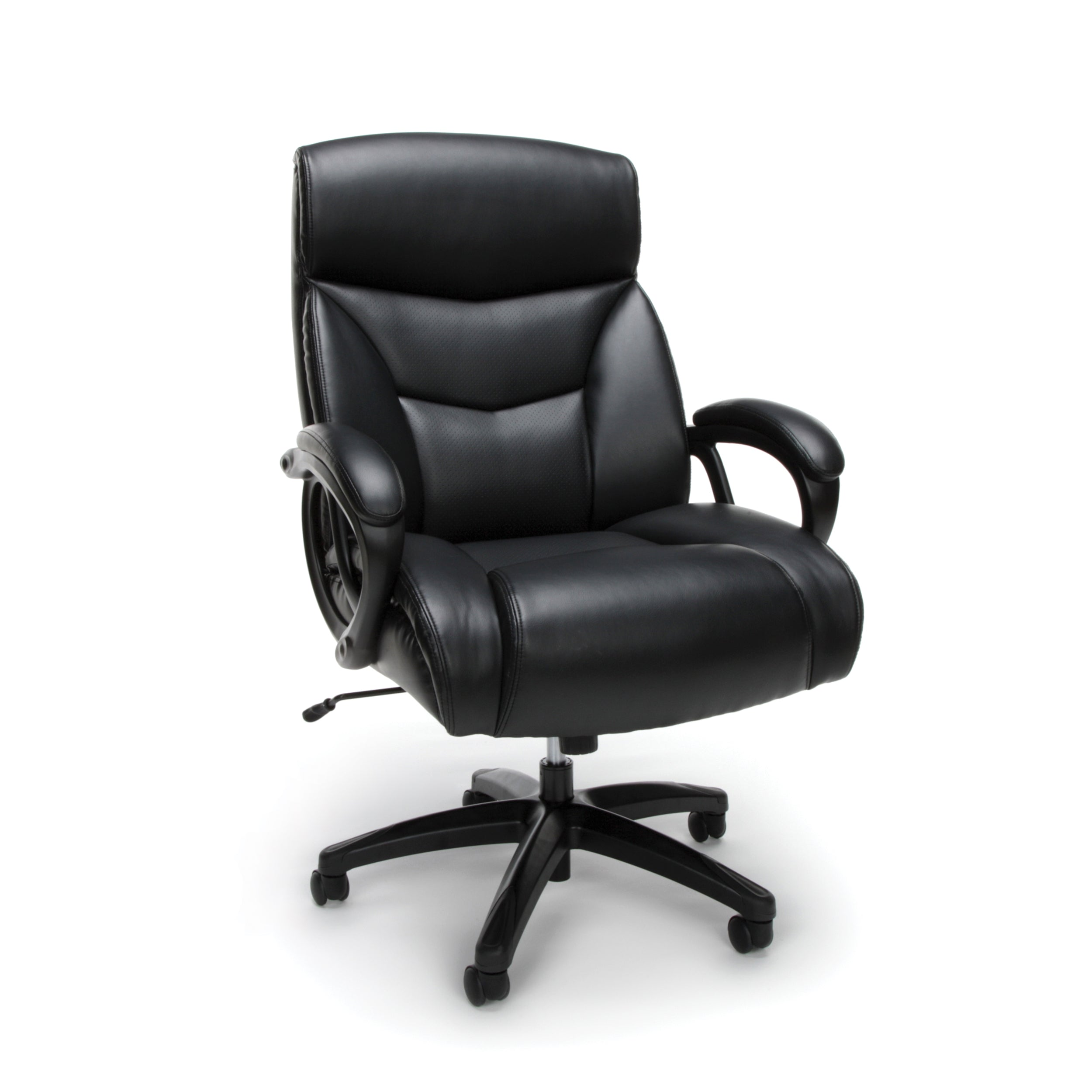 Model ESS-6040 Essentials by OFM Big & Tall Leather Executive Chair
