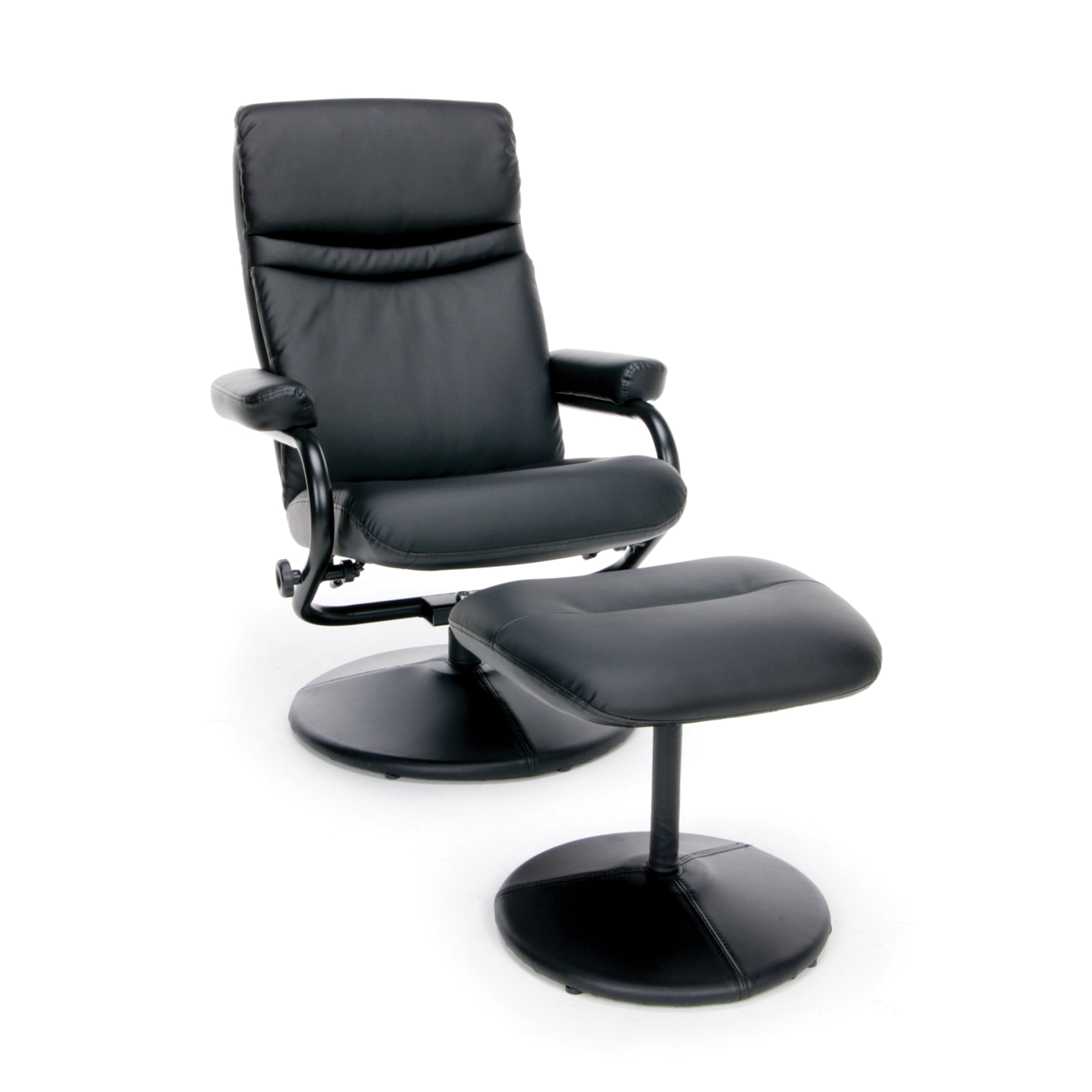 Model ESS-7000 Essentials by OFM Leather Recliner & Ottoman