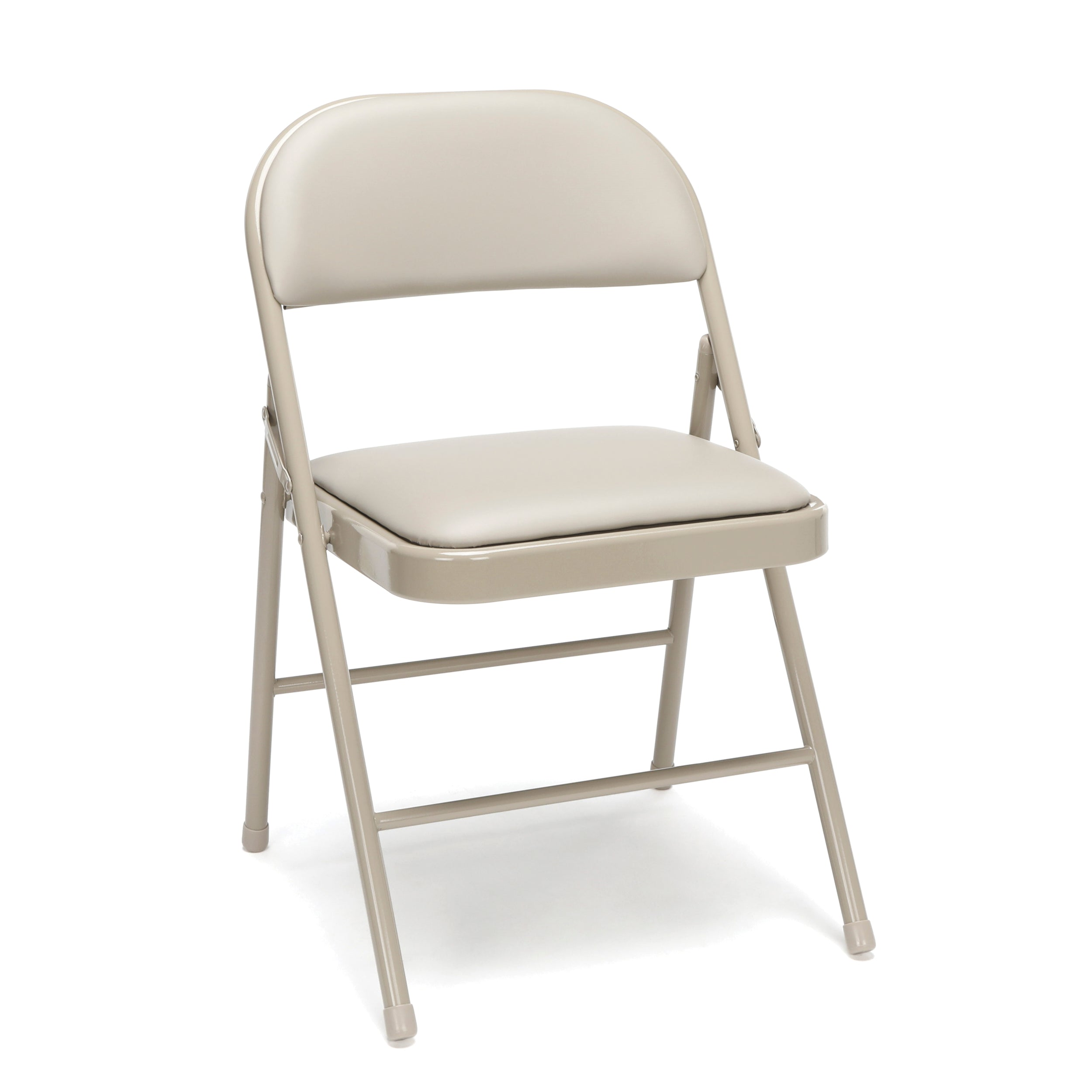 Model ESS-8210 Essentials By OFM 4-Pack Padded Metal Folding Chairs