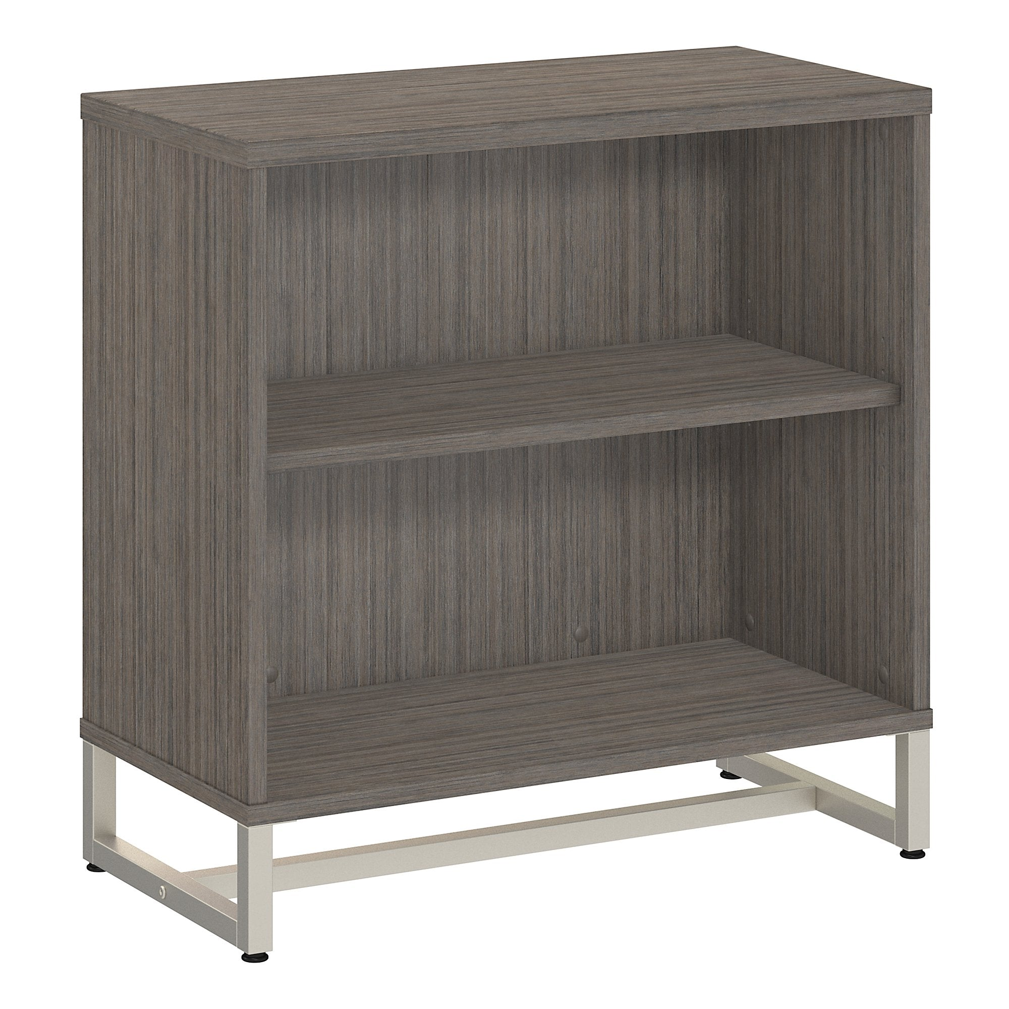 Office by kathy ireland® Cocoa Method Bookcase Cabinet