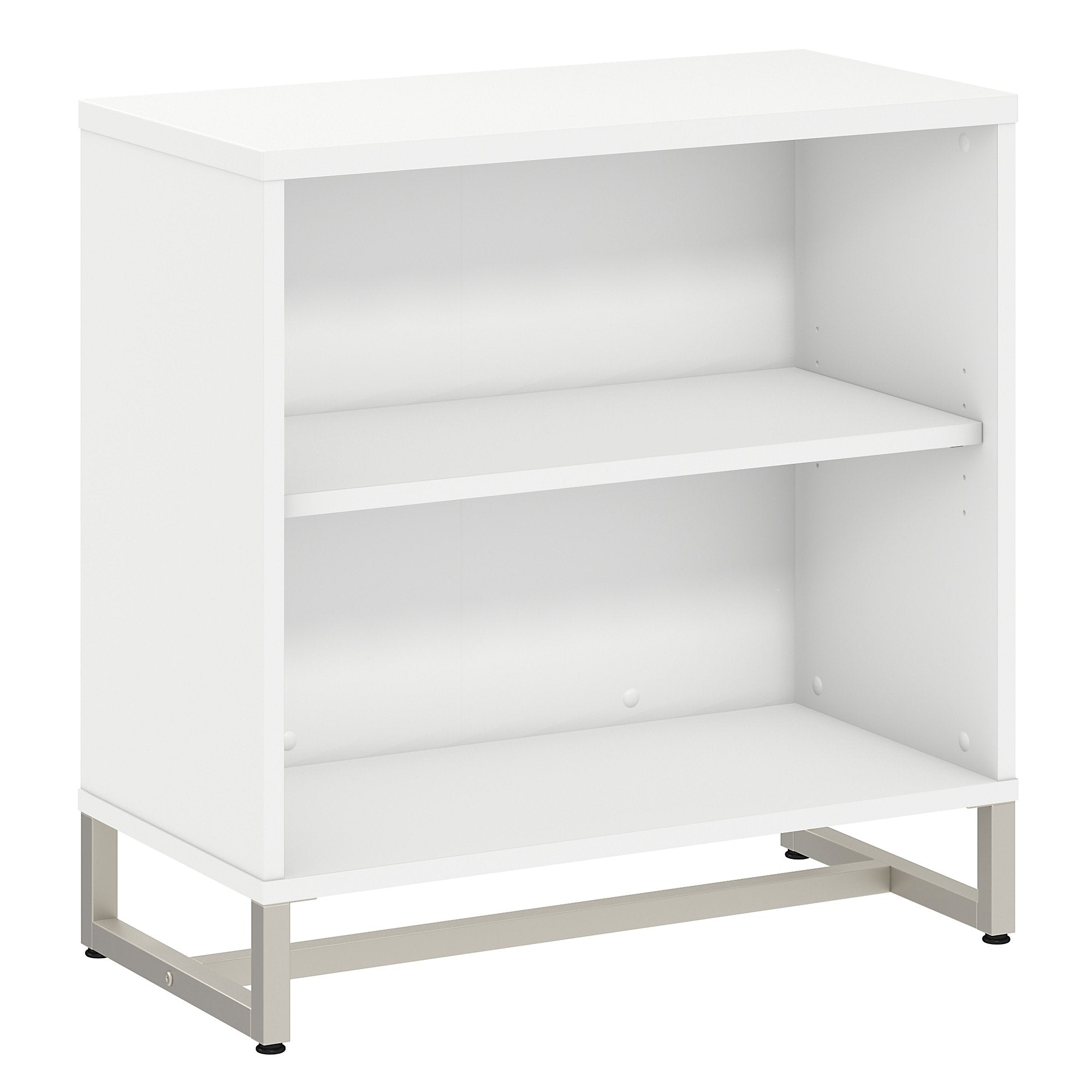 Office by kathy ireland® White Method Bookcase Cabinet