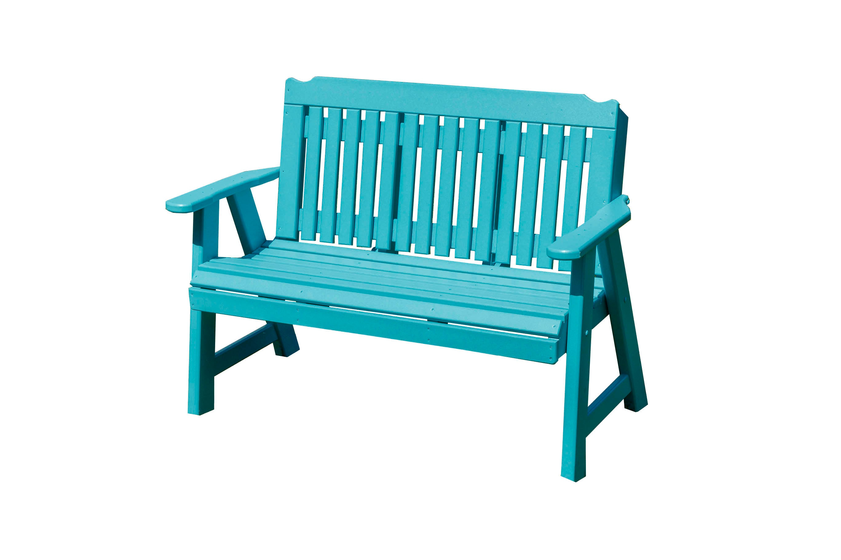 Outdoor Furniture Poly Lumber Patio Porch Logan Bench