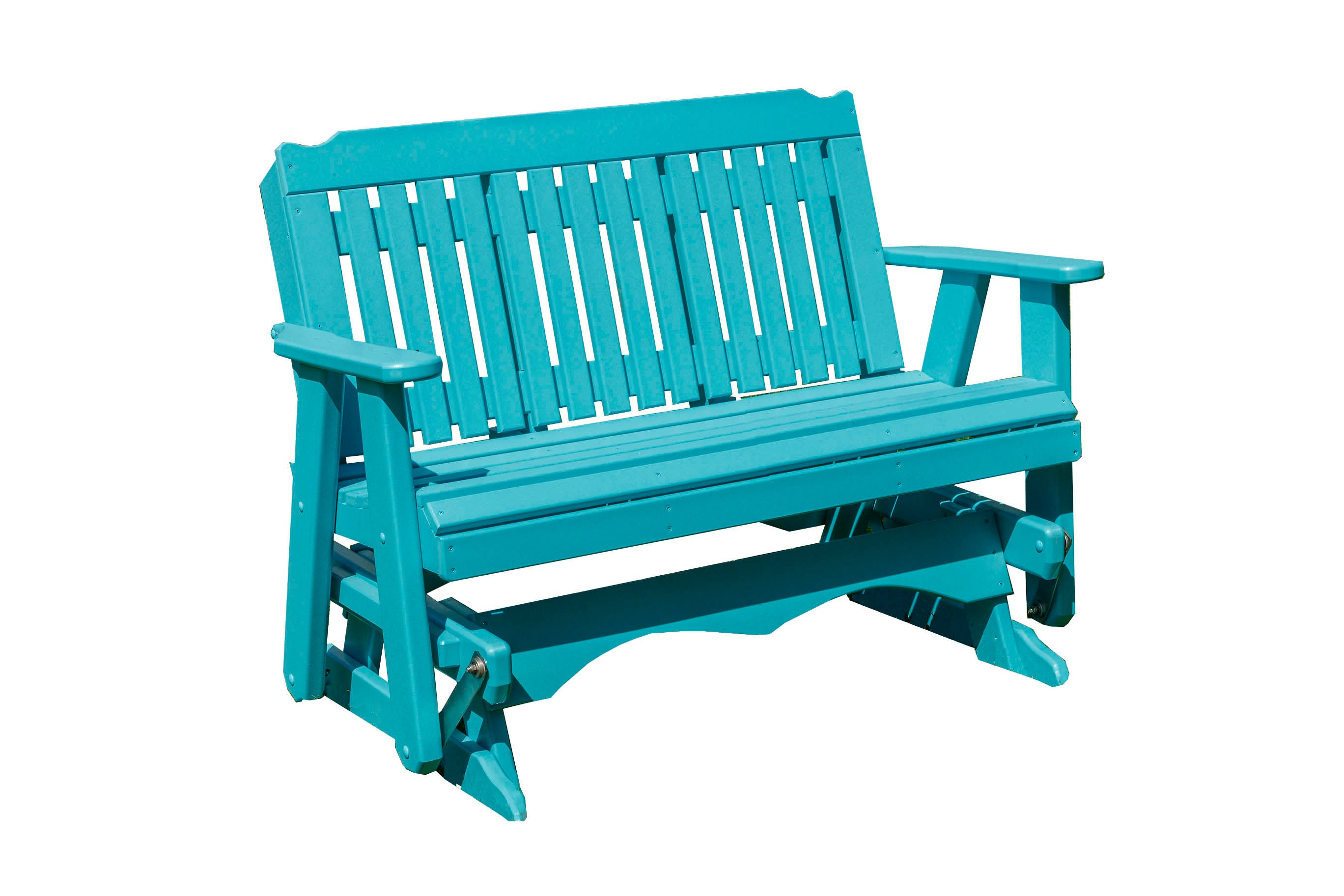 Outdoor Furniture Poly Lumber Patio Porch Logan Glider