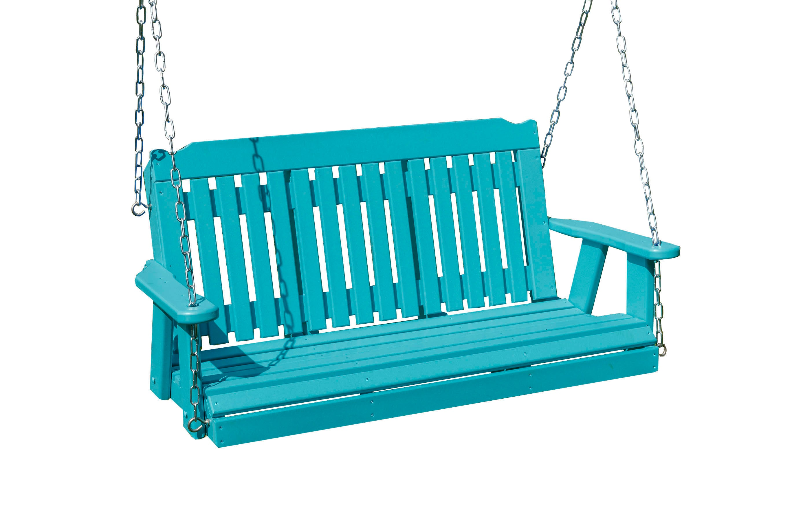 Outdoor Furniture Poly Lumber Patio Porch Logan Swing