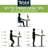 Move 60 Series by 60W x 30D Height Adjustable Standing Desk